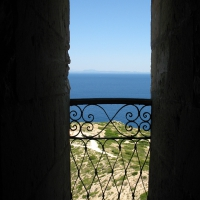 View from Es Castell on Cabrera Island