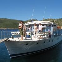 Excursion boat to Cabrera Island