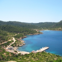 Es Port bay on Cabrera Island