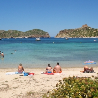 Sa Plageta beach on Cabrera Island
