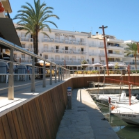Cala Bona resort harbor