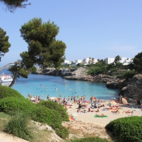 Cala Esmeralda in Cala D'Or