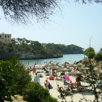 Cala Ferrera beach in Cala D'Or
