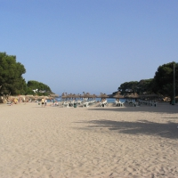 Cala Gran beach in Cala D'Or