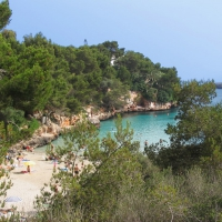 Cala Serena beach in Cala D'Or