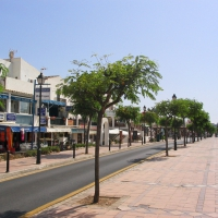 Cala D'Or shopping street Es Palmador