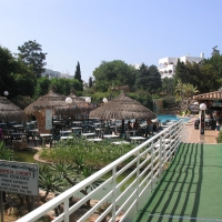 Tropical Garden bar in Cala D'Or