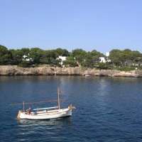 Fishing boat in Cala D'Or