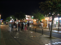 Cala D'Or shopping street Es Palmador at night