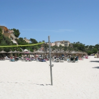 Cala Ferrera beach volleyball