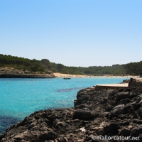 Playa s'Amarador in Cala Mondrago nature park