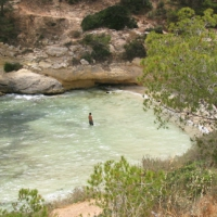 El Mago beach in Portals Vells