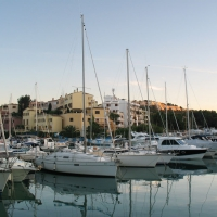 Santa Ponsa nautical club harbor