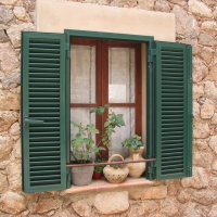 Window in Valldemossa